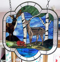 Ozark Stained Glass & Patterns : Wildlife Animals